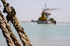 Dredgers, Khor Al-Zubair Port, Iraq