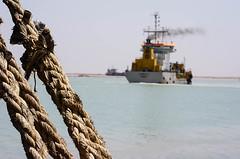 Dredgers, Khor Al-Zubair Port, Iraq