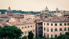Rome (matt.be) Tags: above summer italy rome church architecture buildings europe duomo domes traveltourist