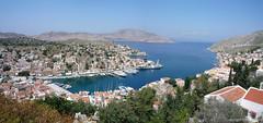 Gialos 2007 (Greek Aviator) Tags: panorama hellas greece symi 20080510greecetrip greekislandpanorama20080510greecetripsymi