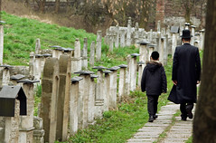 These two shall pass (Michael Colello Images) Tags: cemetery krakow kazimierz hasidim