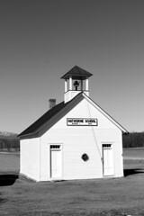 Hathorne School (pegase1972) Tags: newengland oneroomschoolhouse ruralschool school unitedstates usa vermont bw