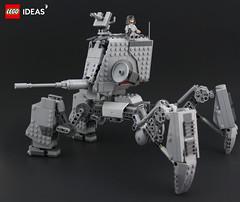 AT-MAW (DeadGlitch71) Tags: photography lego starwars atmaw atst space mech mecha imperial army tank artillery scifi scfi allterrain walker legophotography
