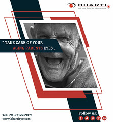 One of the best eyecare for taking care of your aging parents vision. (bhartieye) Tags: bharti eye eyecare delhi services refractive retina asthetics care cataract lasik catract laser phacoemulsification phacocataract phacoemulisification ophthalmology oculoplasty hospital foundation glucoma glaucoma