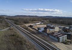 Chillicothe Ohio (player_pleasure) Tags: ohio ohiofoothills railroadtracks drone mavicpro ariel rural ruraldecay
