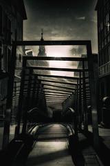 """Shadows in the night..."" (Ilargia64) Tags: stairs vitoriagasteiz basquecountry spain monochrome blackandwhite urban streetphotography architecture poe nightphotography amayasanchez"