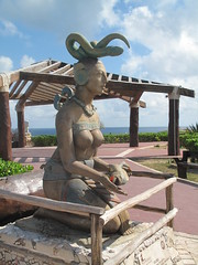 Isla De Mujeres - Island of Women, Mexico (rylojr1977) Tags: isleofwomen mexico island tourism mayan goddess fertility statue