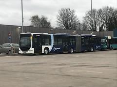 Arriva Midlands 5007 BX04MXN (Andy4014) Tags: bx04mxn arriva midlands citaro east airport