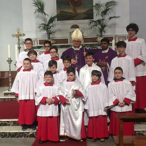 S. E. L'Arcivescovo Emidio Cipollone in visita pastorale a Tollo