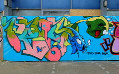 Graffiti (oerendhard1) Tags: graffiti streetart urban art rotterdam zuid penis rasta