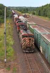 Pokegama to Proctor (GLC 392) Tags: bcol british columbia online line railway railroad train transfer dmir proctor mn minnesota cn canadian national 4619 ge c408m emd sd75i sd70m2 5707 5677 8859 scale house 7044 7211 gp9rm