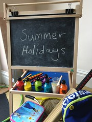 A School Chalk Board Just Before the Summer Holidays (itnmarkeducation) Tags: chalk chalkboard summer holidays term halfterm summerholidays termtime schoolholidays school teacher schoolsummerholidays