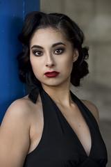 Marissa Lopez downtown (Mitch Tillison Photography) Tags: lovely beautiful stunning gorgeous amazing portrait beauty woman female godox strobe nikon d810 tamron 70200mitchtillison photographt shoot urban