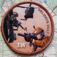 Belgium Heliday 2017 / Patch (Combat-Camera-Europe) Tags: army helicopter hubschrauber patch patches nato otan exercise exercises militär military navy beauchevain belgien belgium belgian