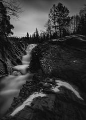 Spring? (strupert) Tags: trøndelag norway mostadmarka d810 nikon 1424mm longexposure bigstopper lee ice cold waterfall river snow winter april