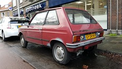Citroën LNA 0.6 (sjoerd.wijsman) Tags: zuidholland holanda olanda holland niederlande nederland thenetherlands netherlands paysbas carspot carspotting cars car voiture fahrzeug auto autos redcars red rood rot rouge hatch hatchback citroën lna citroënlna gy24ny sidecode4 delft 01032017