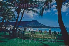 Royal Hawaiian Beach View 1952 (Kamaaina56) Tags: 1950s waikiki hawaii beach slide royalhawaiian