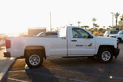 Atlas Air (So Cal Metro) Tags: atlasair airline cargo freight chevy pickup silverado chevrolet