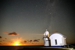 Easter Moonrise (TonyinAus) Tags: moonrise australia water sky clouds weather sea longexposure