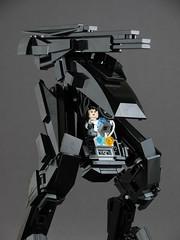 VIOLISE 4 (mondayn00dle) Tags: lego mech mecha stealth sniper black