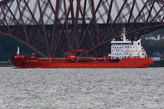 Sten Aurora St Davids Harbour 16-04-17 (MarkP51) Tags: stenaurora st davids harbour firthofforth chemical tanker nikon d7100 ship vessel maritime photography