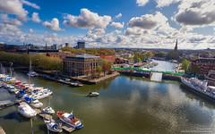 DJI_0146 (opnwong) Tags: bristol england unitedkingdom gb harbourside drone aerial dji djiphantom phantom4 highdynamicrange avon ship boats river ngc