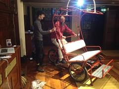 Kinetic art or pedicab (Bugbugs Media Ltd) Tags: kineticart rickshawart lourivalart bugbugsart
