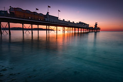 IAT_1543 (Ian Tomlinson, UK) Tags: seafront devon tokina landscape sunrise nd filter d7200 nikon 1120 paignton torbay pier