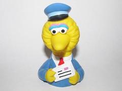 Big Bird as Mailman (Pest15) Tags: birthday bigbird sesamestreet pbs toy icon mailman figure