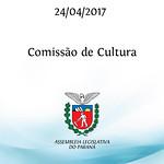 Reunião da Comissão de Cultura 24/04/2017