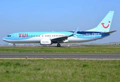 """OO-JAY, Boeing 737-8K5(SWL), 40944/4431, TUI Airlines Belgium, """"Elegance"""", CDG/LFPG, 2017-04-09, on Bravo Loop, taxi to runway 09R/27L. (alaindurandpatrick) Tags: oojay 737 737ng 738 737800 boeing boeing737 boeing737ng boeing737800 jetliners airliners tui tuibelgium airlines cdg lfpg parisroissycdg airports aviationphotography 409444431 tuiairlinesbelgium"""