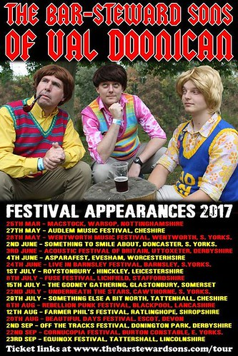 barsteward festival dates 2017
