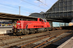 DB Cargo 265 017-4 Müllzug, Bremen Hbf (michaelgoll777) Tags: db br265 gravita
