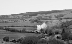 Off to the seaside (davids pix) Tags: 34070 manston bulleid southern pacific preserved steam locomotive swanage corfe castle devon belle dorset 2017 02042017