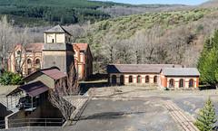 Castillete y accesorios (vcastelo) Tags: castillete calero mina pozo minas zona minera barruelo santullán palencia españa spain