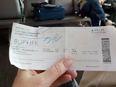 My Boarding Pass (JuneNY) Tags: buffalotojfk new york airports buffalonewyork delta buffalointernationalairport erie county airport