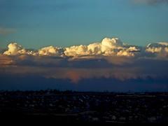 Cumulonimbus Cloud(s) Before a Spring Blizzard (Ginger H Robinson) Tags: cumulonimbus thunderhead beforeablizzard atmosphericinstability verticalcloud springtime dusk sunset colorado clouds storm precursor harbinger conditions