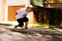 This kid was fast as lightning (_portshead) Tags: downhill longboard longboarding fast freeride