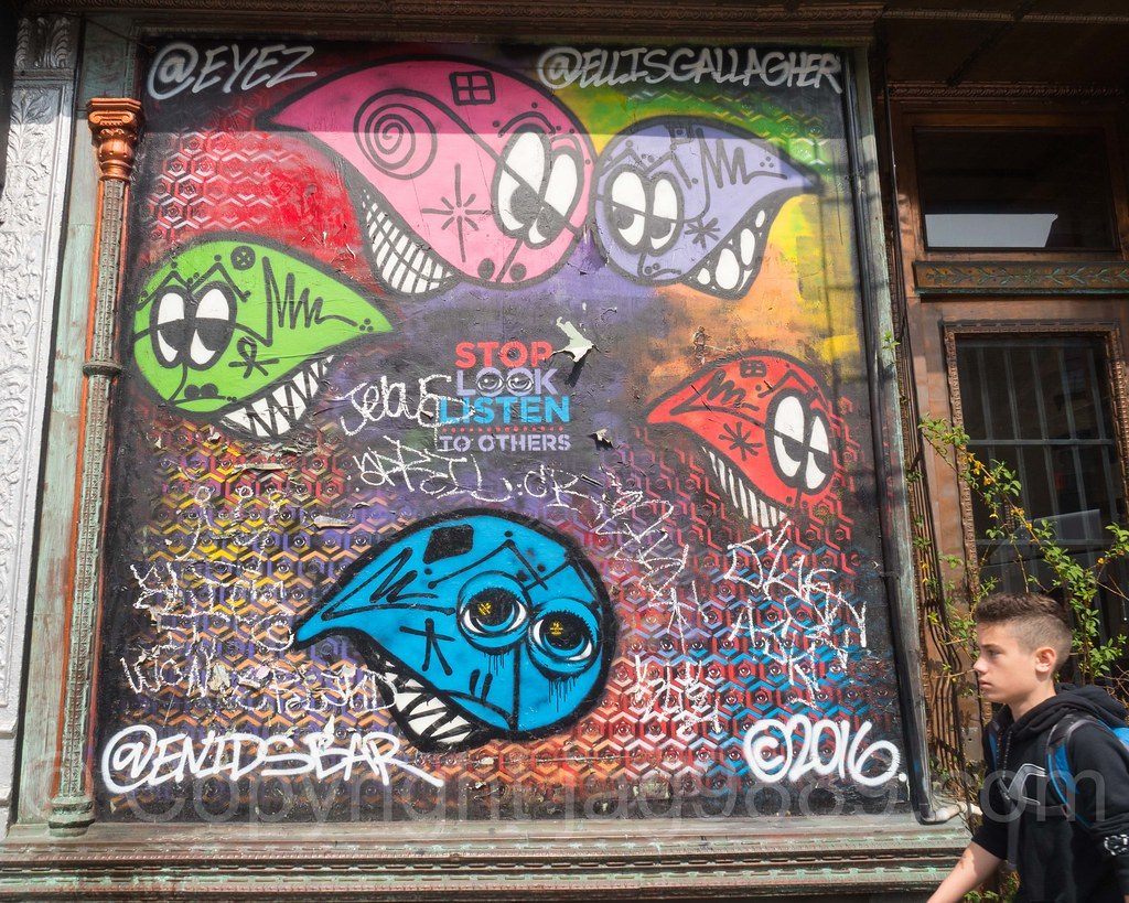 The world 39 s best photos of graffiti and greenpoint for Fish tag nyc