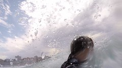 Contra wave (minimi007) Tags: australia beach bondibeach gopro5 selfiestick summer sun surf sydney water watersport wave wavebreak woman