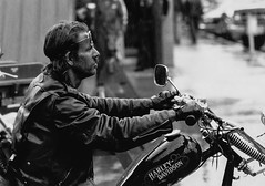 Rain Rider (Tim @ Photovisions) Tags: southdakota sturgis rain harleydavidson motorcycle biker