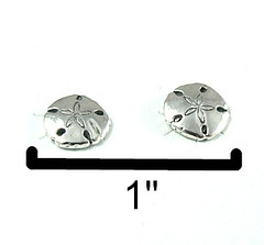 Sand Dollar Ear Studs  Apparel & Accessories (kevingumpp) Tags: apparelampaccessories asilomar jewelry