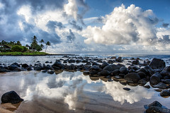 Baby Beach, Poipu, Kauai. (drpeterrath) Tags: canon eos5dsr 5dsr seascape landscape sky blue reflection kauai poipu koloa hawaii color