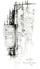 Anton Pieck- Bemin dan Amsterdam, 1948 ill  Leidseplein  naar Leidse Bosje (janwillemsen) Tags: antonpieck amsterdam bookillustration 19451948