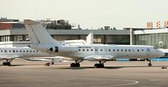 Tu-134 | RA-65576 | SVO | 20110814 (Wally.H) Tags: tupolev tu153 tu134 tupolev134 ra65576 rusair svo uuee moscow sheremetyevo airport