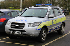 Lincolnshire Police Hyundai SantaFe Rural Wildlife Crime Officer (PFB-999) Tags: lincolnshire lincs police hyundai santafe 4x4 rural wildlife crime officer response car vehicle unit lightbar rotators beacons et07fvk