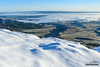 When Clouds Fall (kevin-palmer) Tags: april snow snowy spring cold snowfall clear sunny blue sky nikond750 tamron2470mmf28 bighornmountains wyoming early morning white bighornnationalforest trees sandturnoverlook scenic view vista fog foggy atmosphericinversion highway14 road switchbacks dayton sunshine