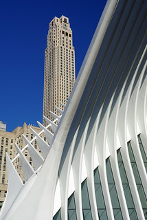 30 Park Place aka 99 Church Street Building and Oculus, NYC