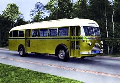 1950 DAF - Verheul bus (Vriendelijkheid kost geen geld) Tags: daf verheul uitschuifmotor waukesha 1950 ns nederlandsespoorwegen ncad nzh 2743