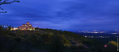 St.Raphael @bluehour (and641) Tags: nikond5100 wideangle greece macedonia kilkis monastery orthodox church bluehour sky clouds tokinaaf1116mmf28 longexposure city lights